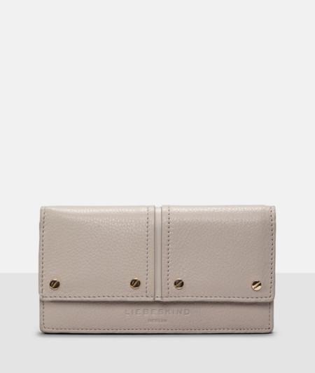 Portemonnaie mit Nietendekor