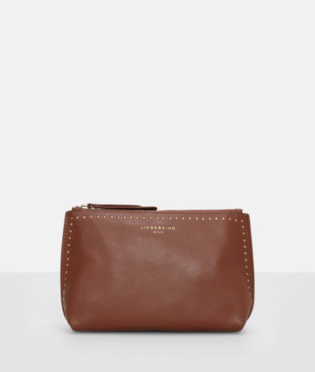 Cowhide leather make-up bag from liebeskind