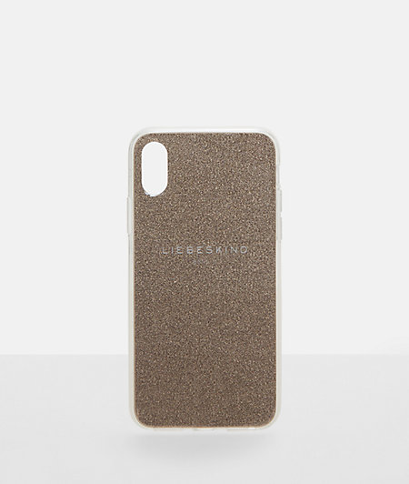 Mobile phone case with glitter from liebeskind