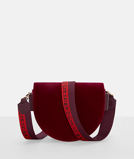 Suede shoulder bag from liebeskind