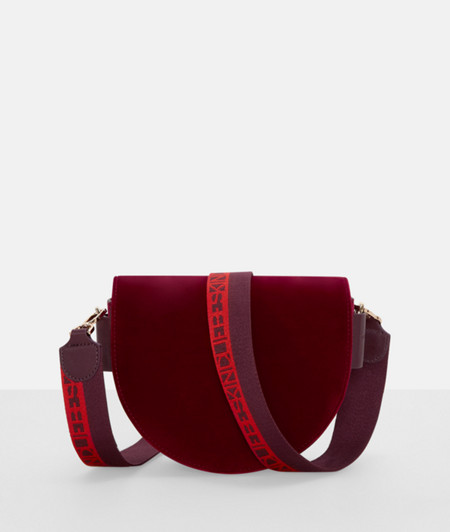 Suede shoulder bag from liebeskind