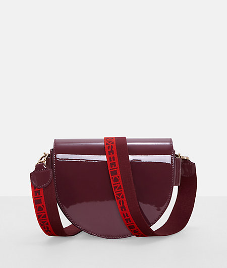 Patent leather handbag from liebeskind