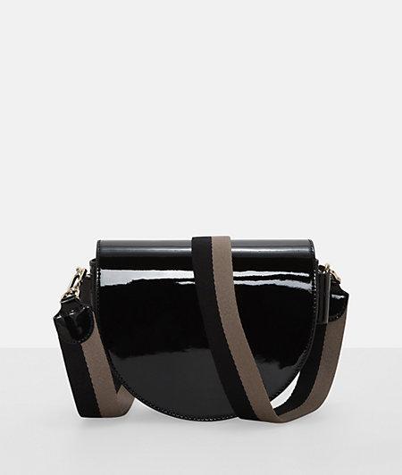 Handtasche aus Lackleder