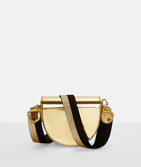 Shoulder Bag with patent leather from liebeskind