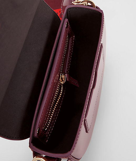 Handbag with a patent finish from liebeskind