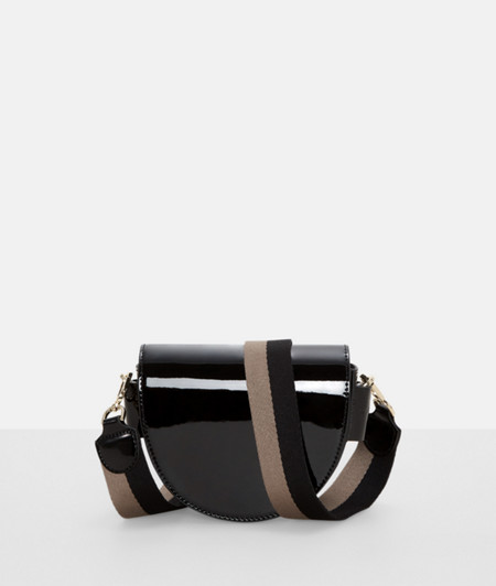 Handtasche mit Lack-Finish
