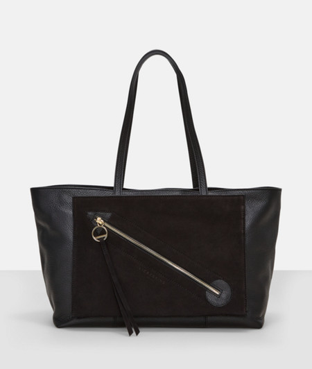 Handbag with a front pocket from liebeskind