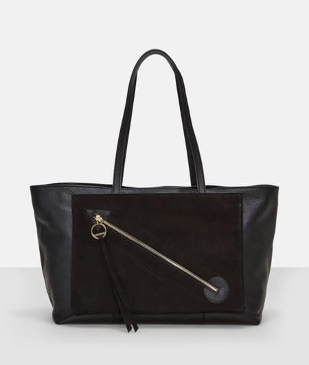 Henkeltasche mit Fronttasche