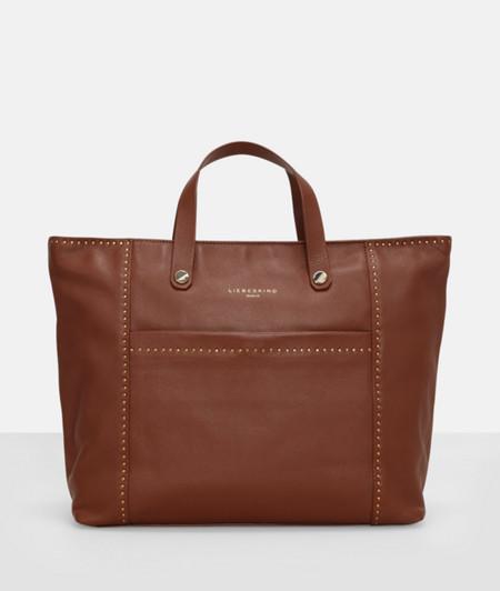 Handbag with stud embellishment from liebeskind