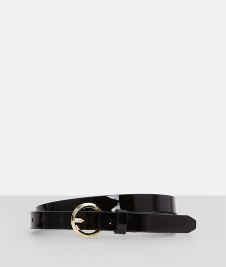 Patent leather belt from liebeskind