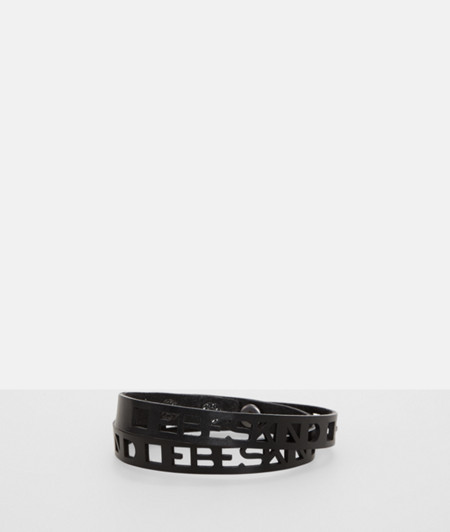Bracelet with logo cut-outs from liebeskind