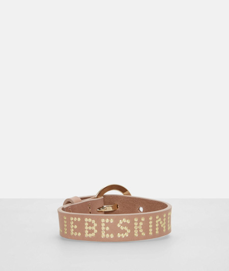 Leather bracelet with a pin buckle from liebeskind
