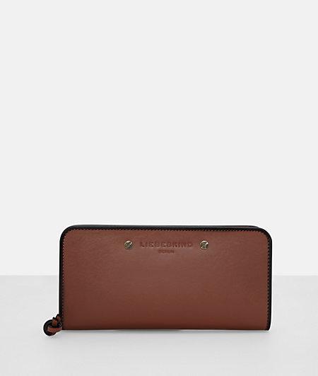 Portemonnaie mit Rundum-Zipper