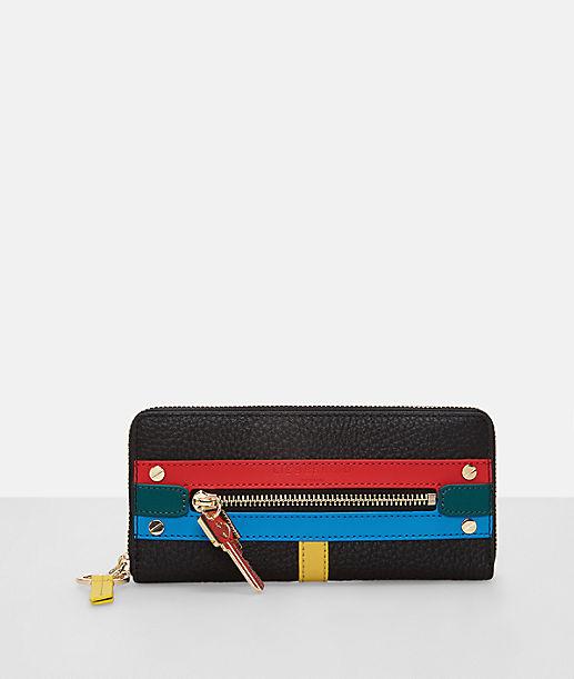 Portemonnaie mit Fronttasche