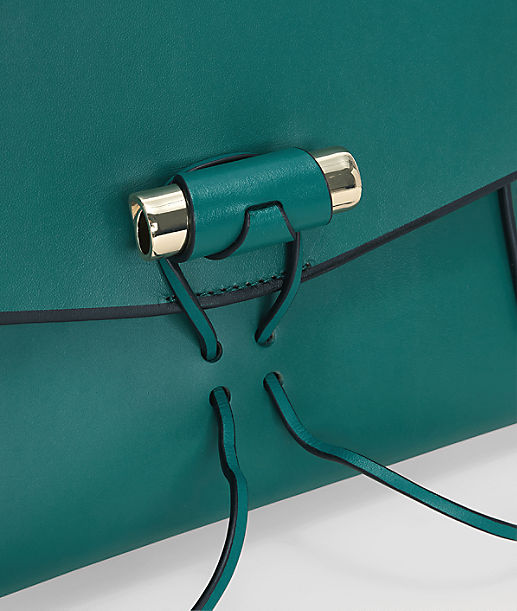 Robust leather clutch from liebeskind