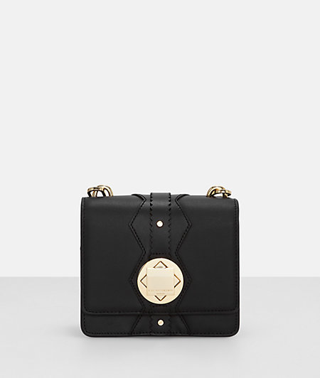 Shoulder bag with a metal clasp from liebeskind