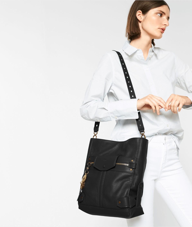 Trimmed handbag from liebeskind