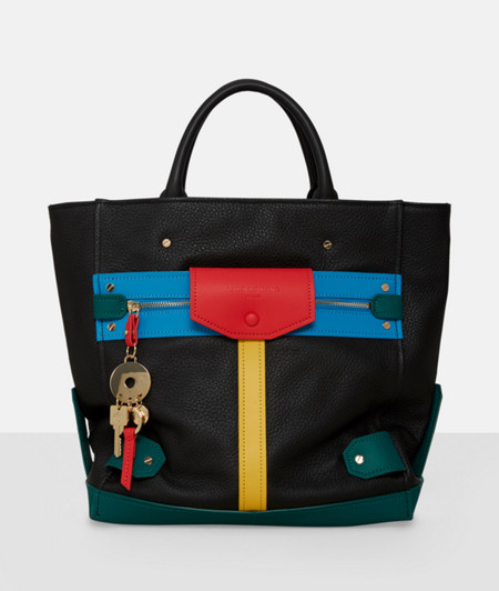 Handbag with colour blocking from liebeskind