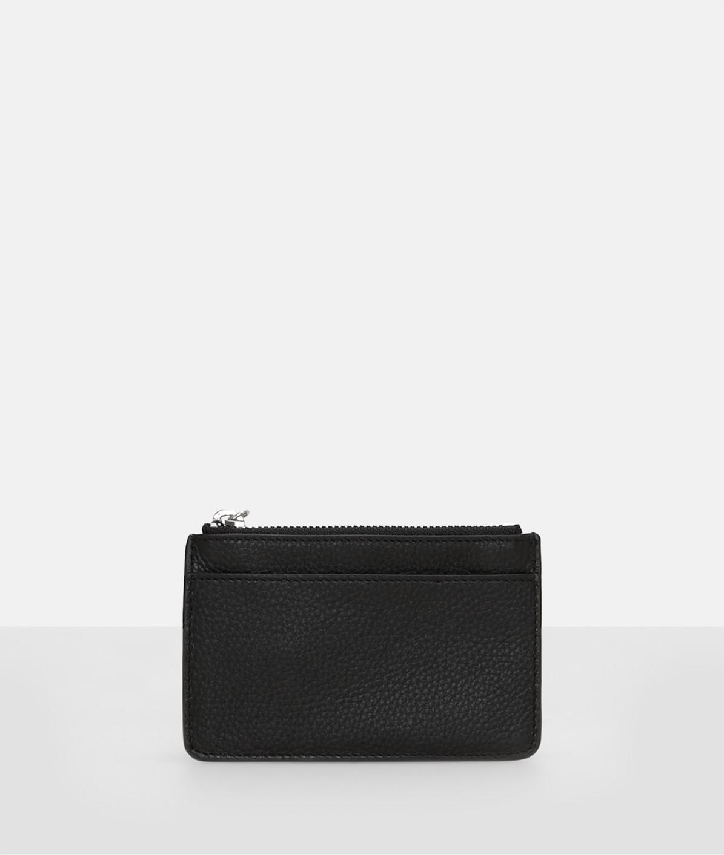 Portemonnaie aus genarbtem Glattleder