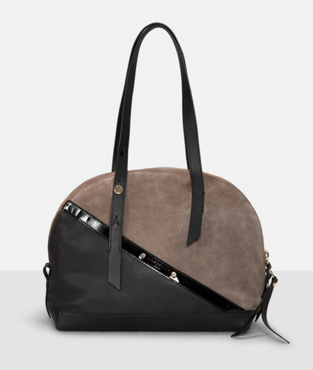 Mixed fabric handbag from liebeskind