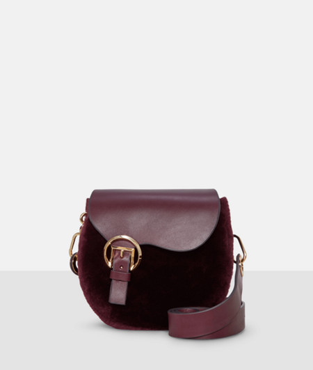 Shoulder bag with a lambskin trim from liebeskind