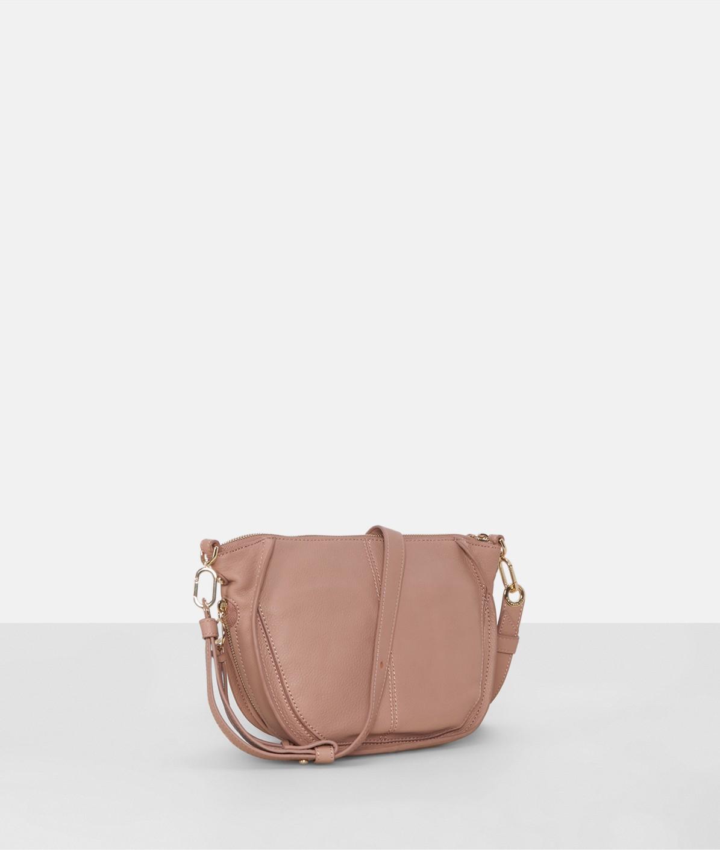 Umhängetasche mit seitlichen Zip-Taschen