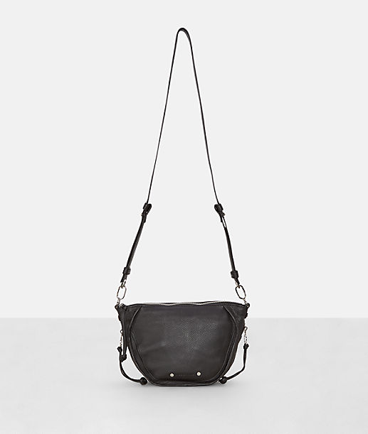 Shoulder bag with side zip pockets from liebeskind
