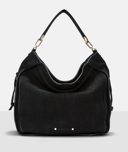 Handtasche mit seitlichen Zipper-Taschen