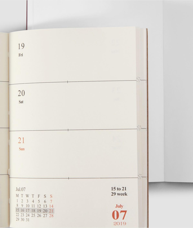 Kalendereinlage 2019 B
