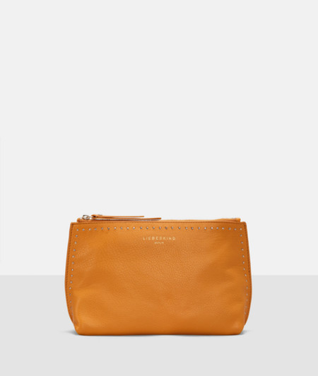 Make-up bag with metallic trims from liebeskind