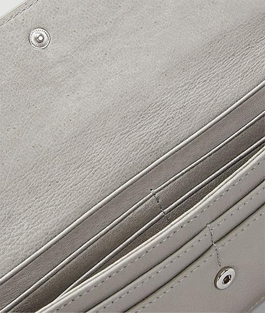 Portemonnaie aus Glattleder