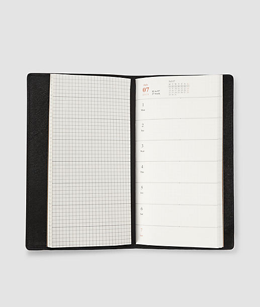 Patent leather calendar from liebeskind