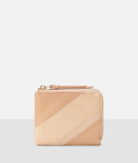 Mixed fabric purse from liebeskind