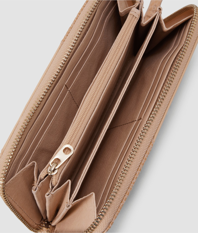 Portemonnaie im Strukturmix
