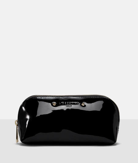 Patent make-up bag from liebeskind