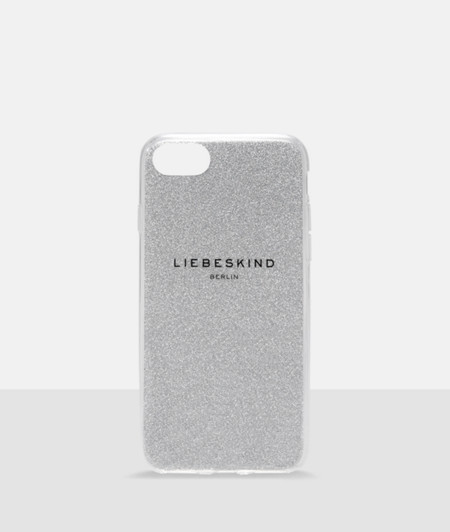 Mobile phone case with a glitter effect from liebeskind