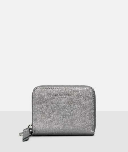 Metallic-look purse from liebeskind