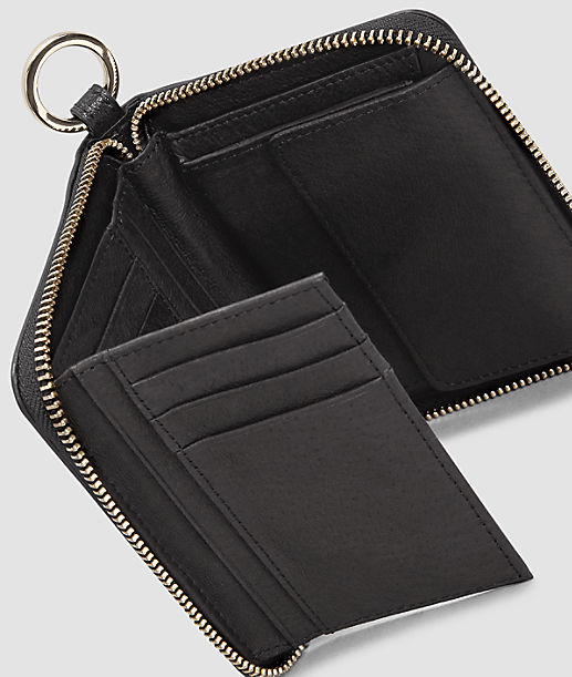 Portemonnaie in Metallic-Optik