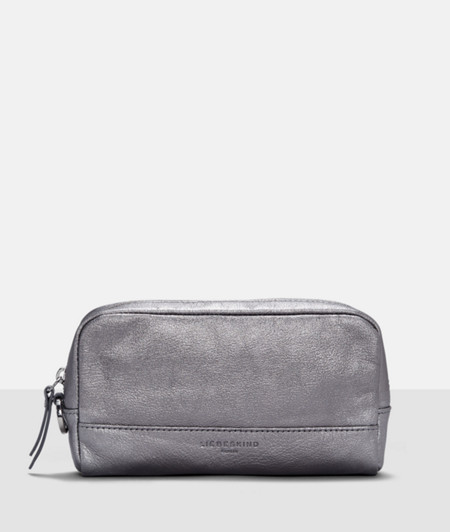 Make-up bag in a metallic look from liebeskind