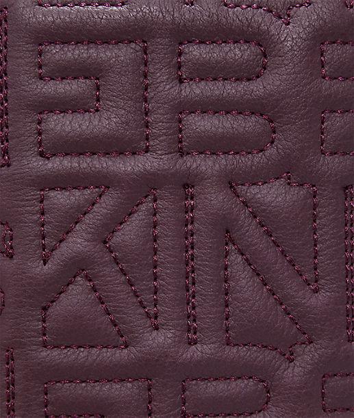 Portemonnaie mit Logostickerei