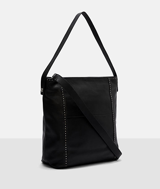 Hobo bag with metal trim from liebeskind
