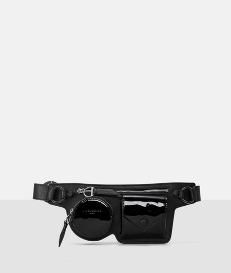 Belt bag with patent leather details from liebeskind