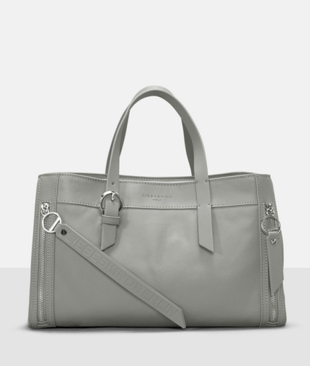 Handbag with front pockets from liebeskind