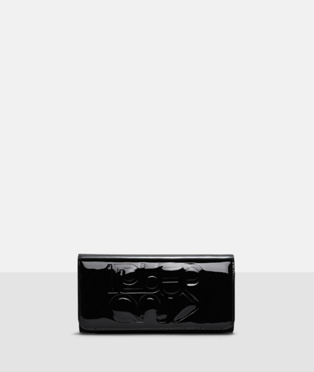 Patent leather evening bag from liebeskind