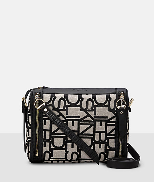 ... Shoulder bag with all-over logo embossing from liebeskind ... 640dcb71332bf