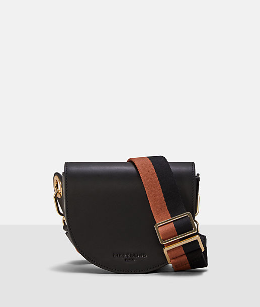 Shoulder bag with a two-tone shoulder strap from liebeskind
