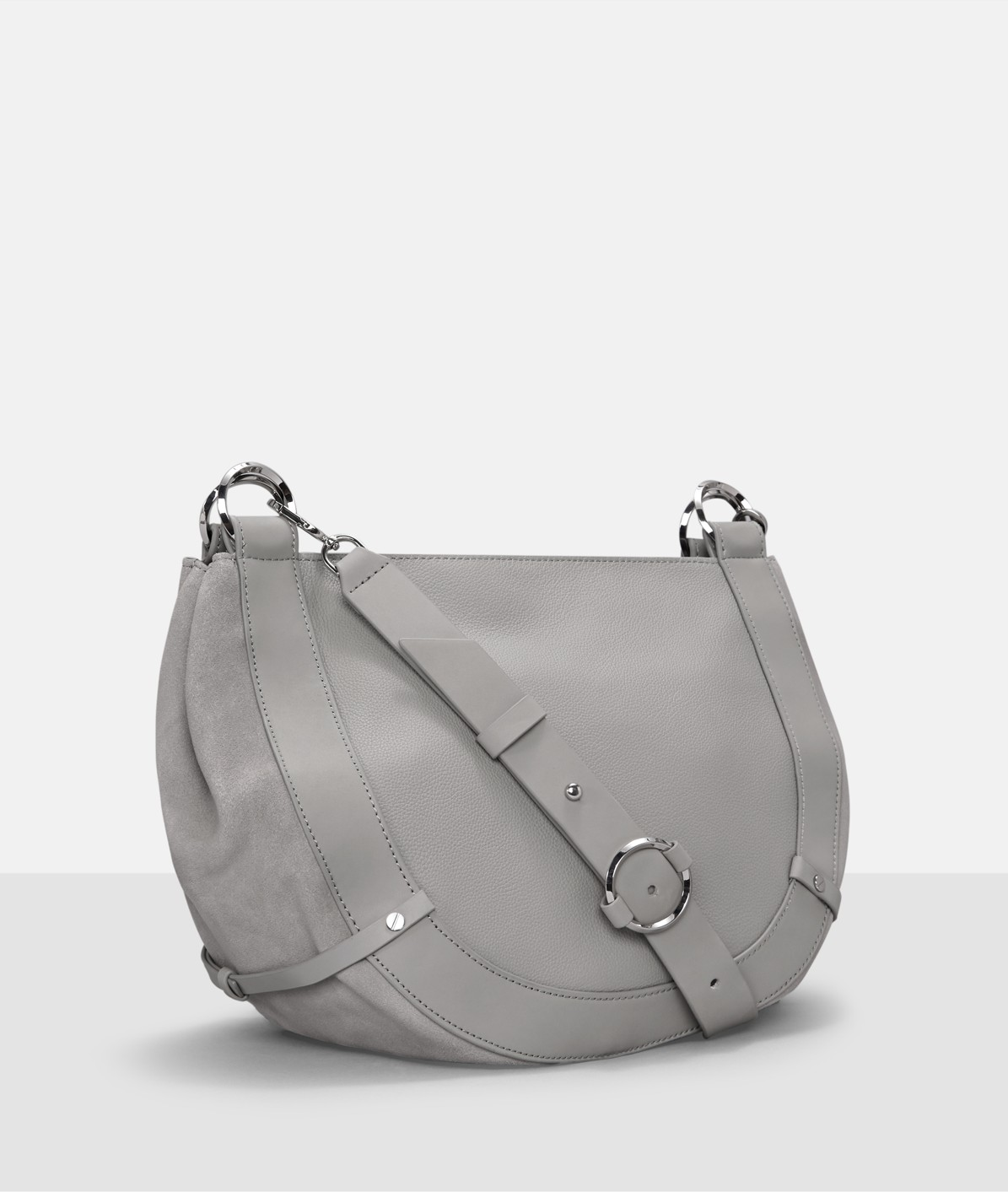Smooth leather shoulder bag from liebeskind