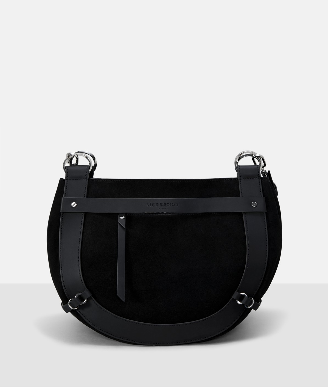 Smooth leather shoulder bag from liebeskind