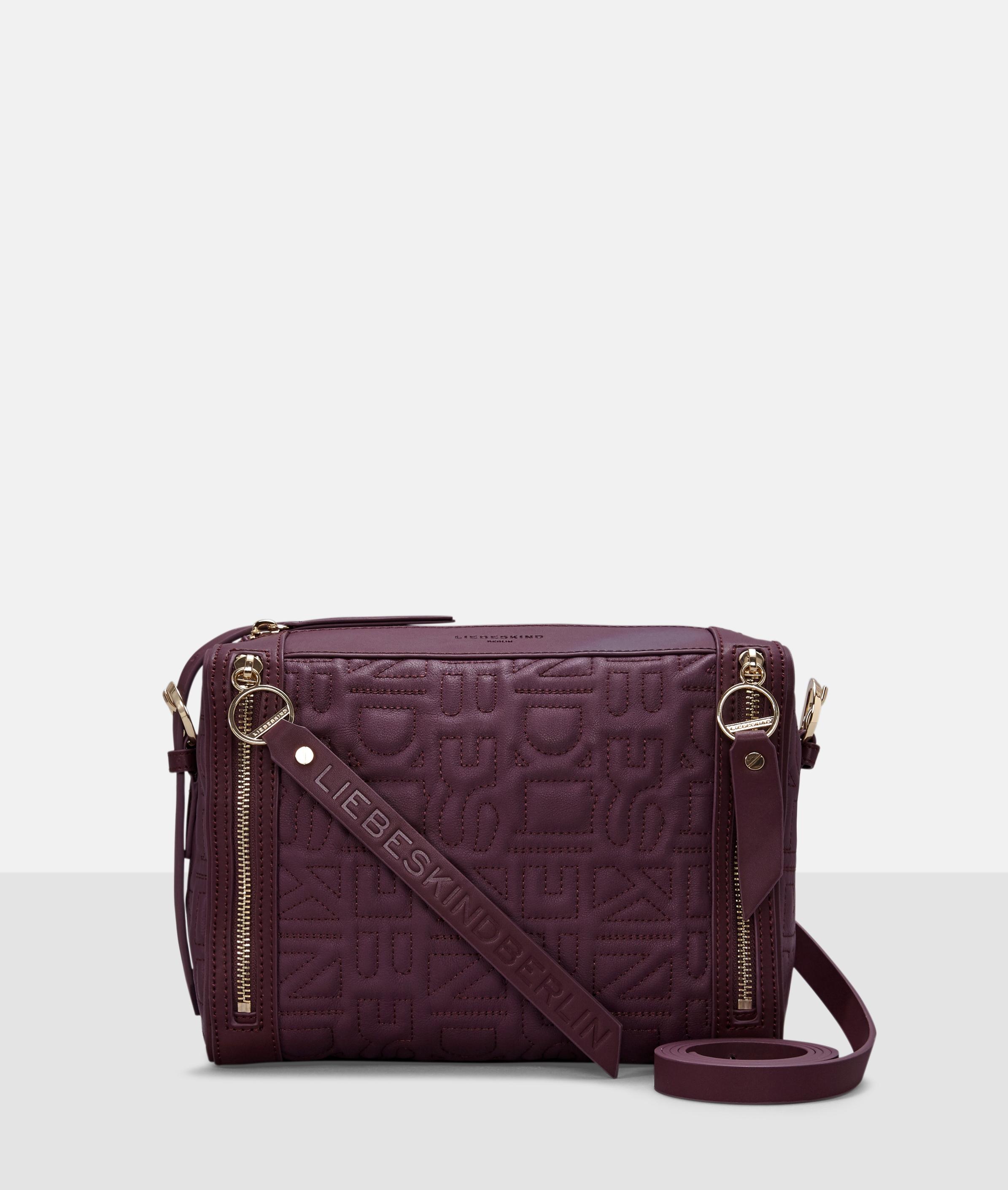 Berlin Tasche Quilt Crossbody M, Pink