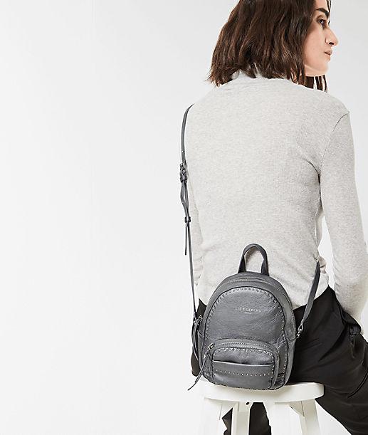 Shoulder bag with metal trim from liebeskind